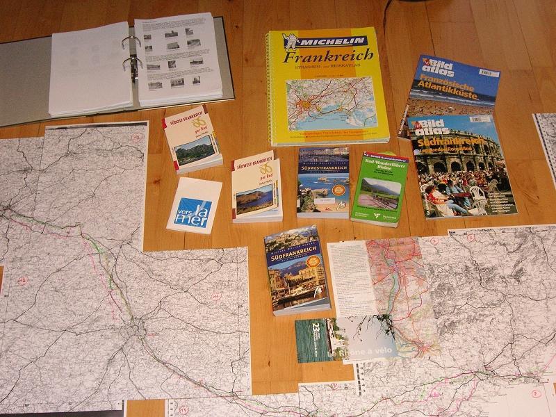 karte rhonetal frankreich